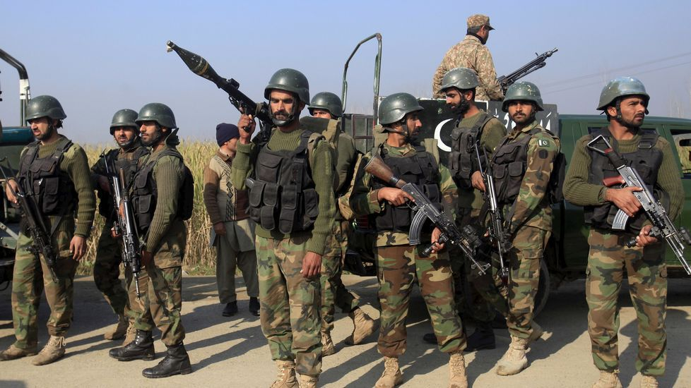 Security Forces recovered huge quantity of arms and ammunition during intelligence based operations in Waziristan Agency