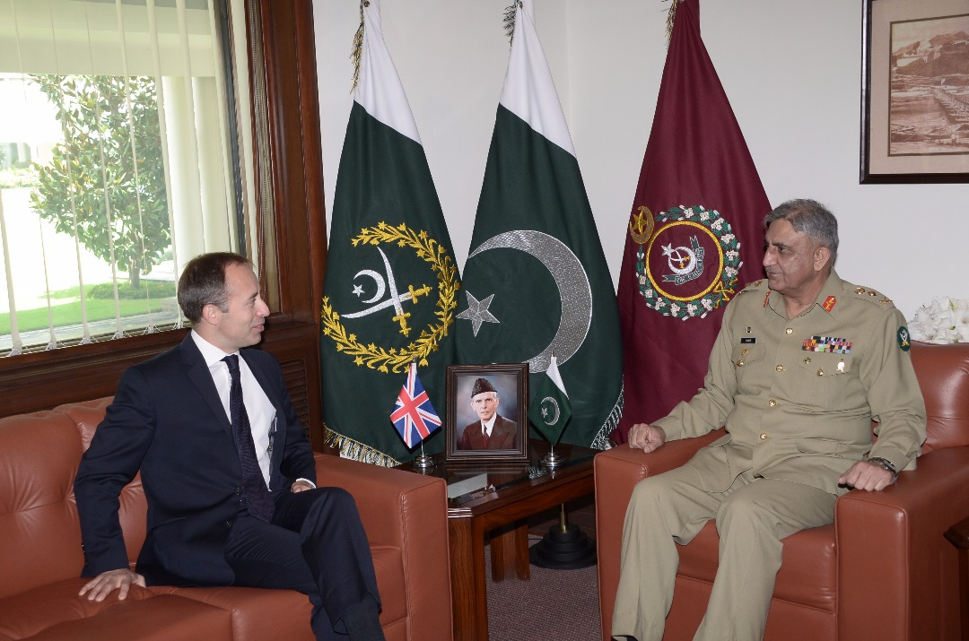 British High Commissioner today called on COAS at GHQ.