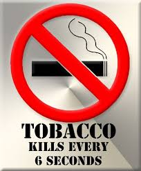Tobacco kills more than 7 million people each year