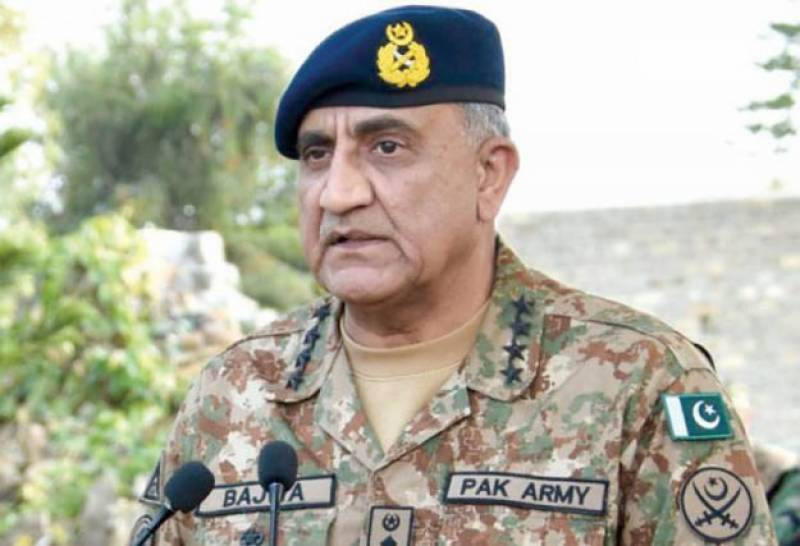 Army shall continue its support to all state institutions for prosperity of Pakistan : Coas