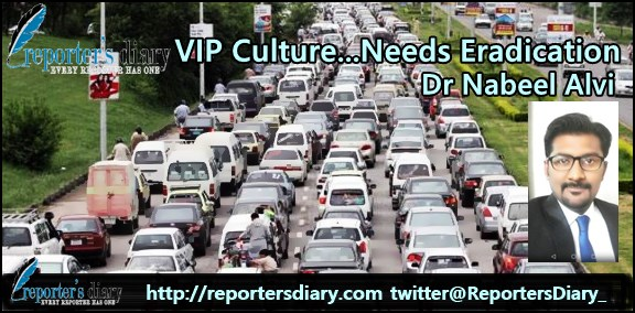 VIP Culture…Needs Eradication