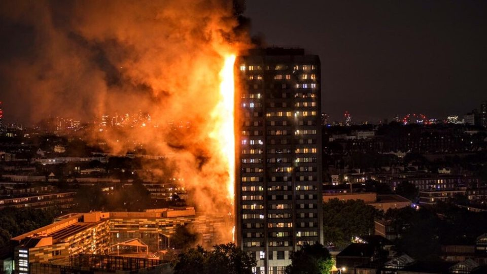 LONDON FIRE :17 CONFIRMED DEAD, NO MORE SURVIVORS