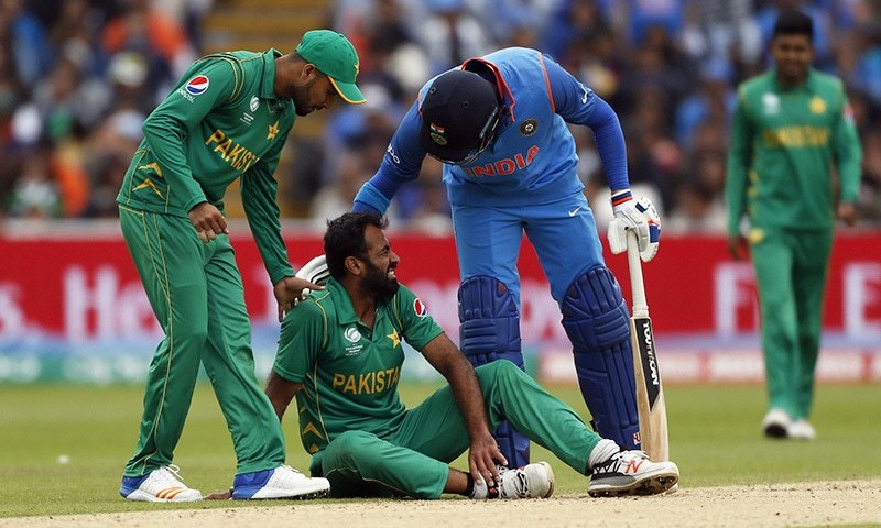 Wahab will not be able to continue to play in remaining games of the Champions Trophy