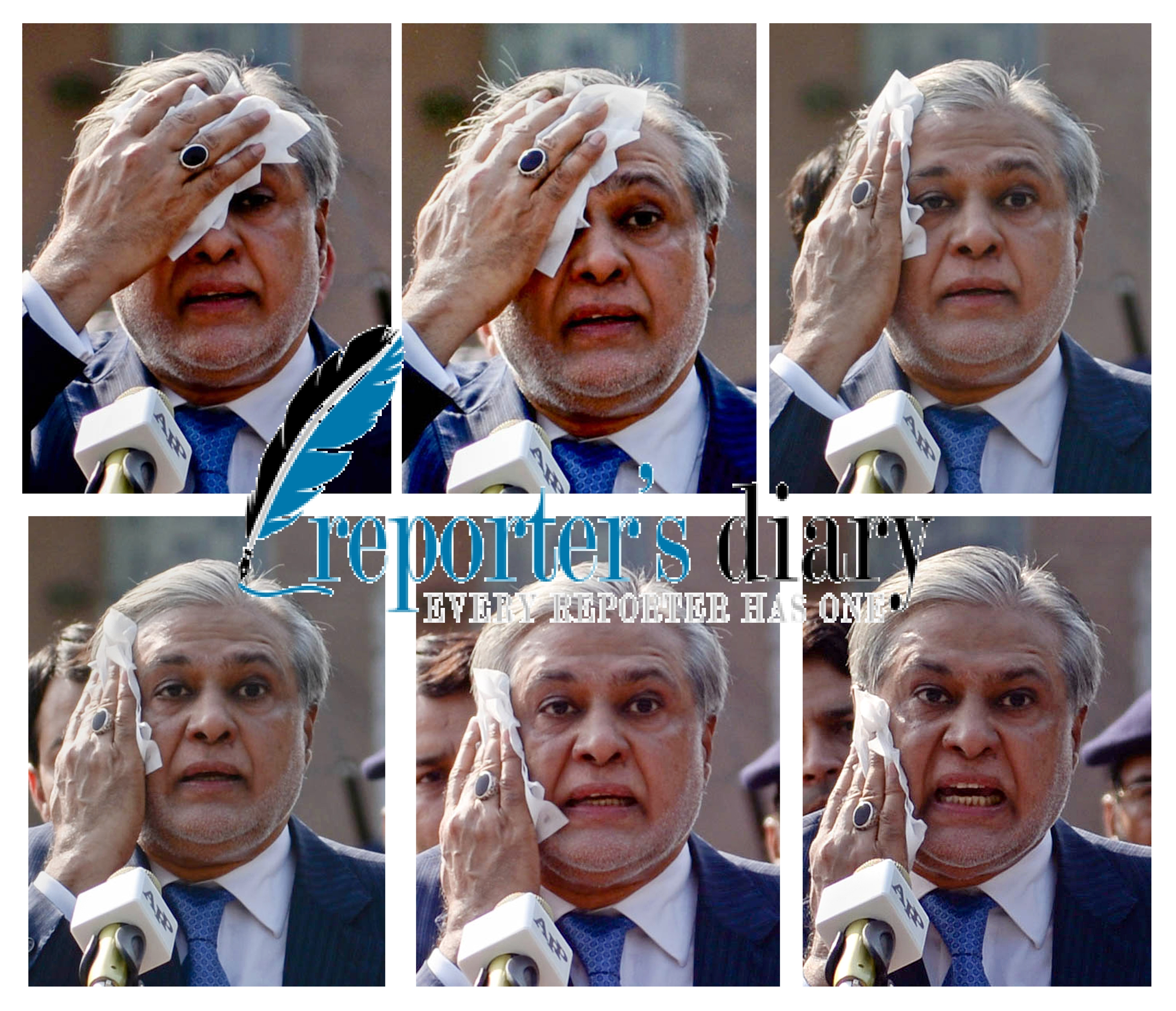 Tension or Heat? Ishaq Dar After Appearing Before JIT