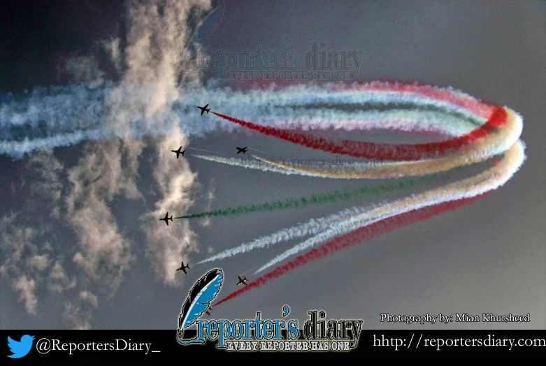 Mega Air Show held in Islamabad
