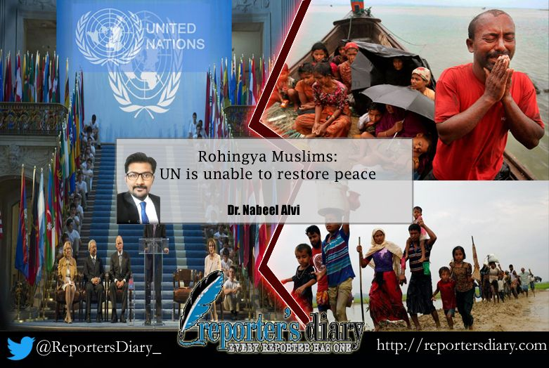 Rohingya Muslims: UN is unable to restore peace ; Dr Nabeel Alvi