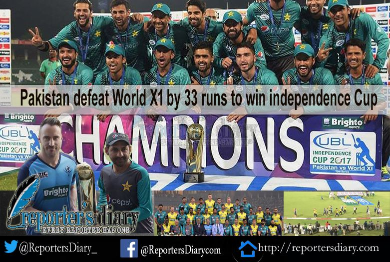 Pakistan defeat worldXI