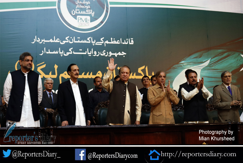 I have been removed repeatedly but you keep bringing me back says re elected PML-N President Nawaz Sharif