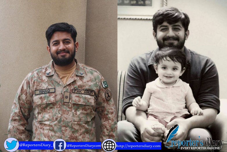 A Major of Pakistan Army embraced martyrdom in an operation of the security forces