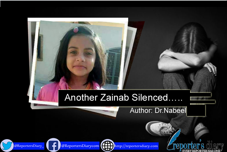 Another Zainab Silenced…..