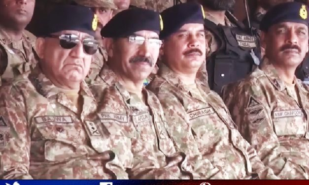 Chief of Army Staff  General Qamar Javed Bajwa visited formations of Bahawalpur Corps during their winter collective training.