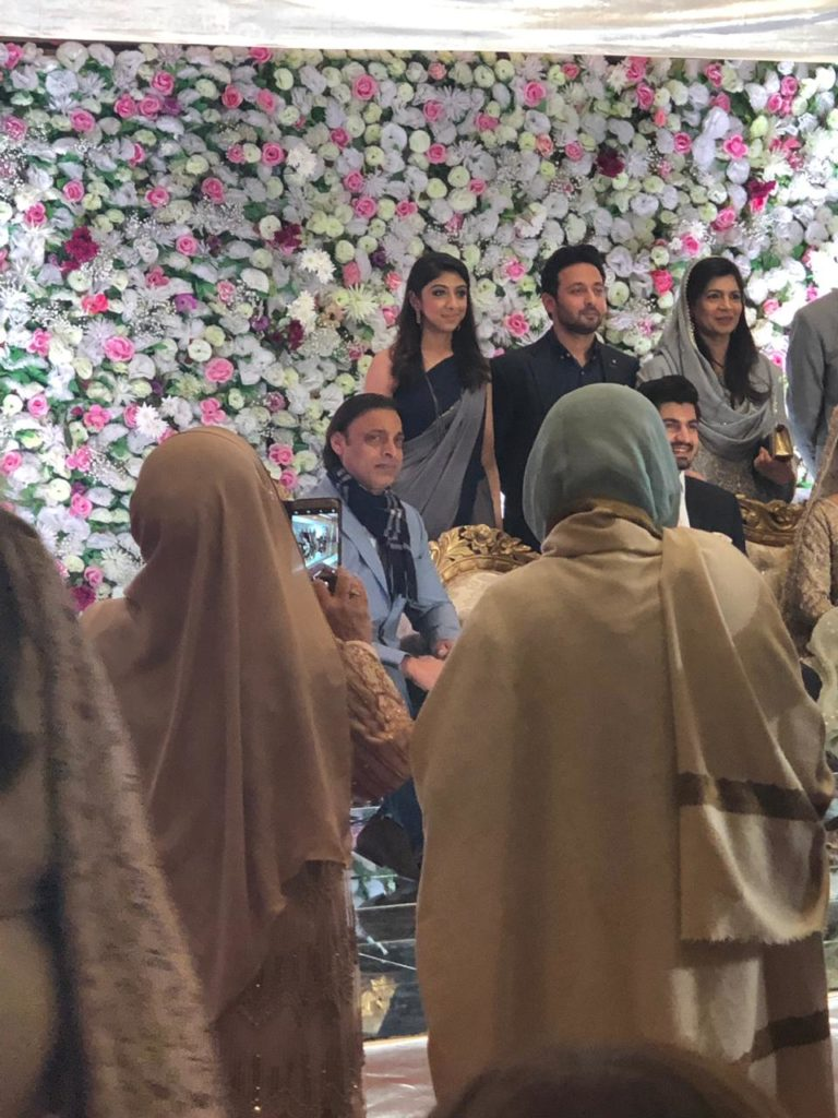 Hamid Mir son's wedding brings all political, social groups together