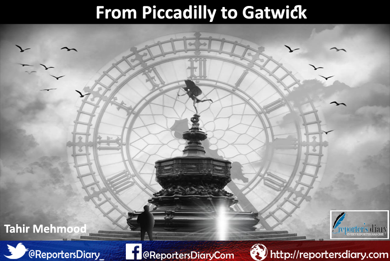 From Piccadilly to Gatwick