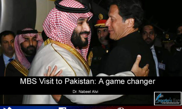 MBS Visit to Pakistan: A game changer