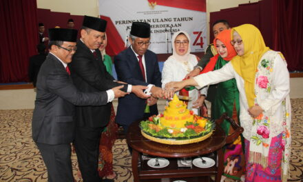 INDONESIA CELEBRATES 74TH ANNIVERSARY OF ITS INDEPENDENCE DAY