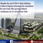 Low attendance in offices after Eid ul Azha