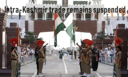 Intra-Kashmir trade remains suspended