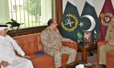 COAS affirmed Pakistan Army's support towards capacity building of Royal Saudi Land Forces.