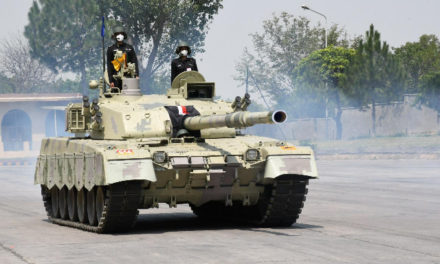Al Khalid-1 Tank Given To Armoured Corps of Pakistan Army